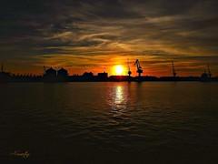 Sunset (#moliço) Tags: aveiro sunset água pordosol portodeaveiro