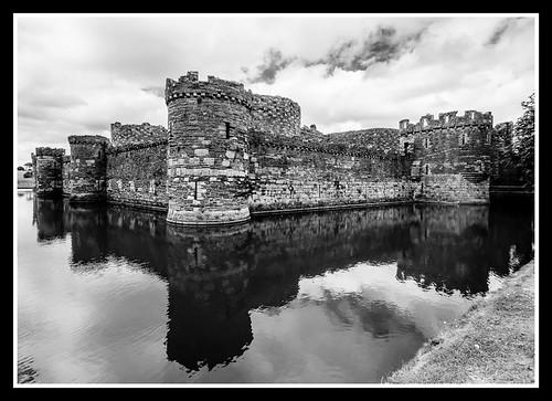 Beaumaris Castle Agfa APX25