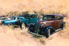 old cars_27547SWC (JGKphotos) Tags: 7styles topaz topazsoftware topaztexturedeffects