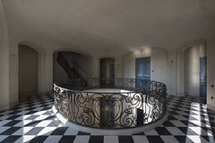 Sedimentary Metamorphic (Matthew Hampshire) Tags: squares grand railings chequered