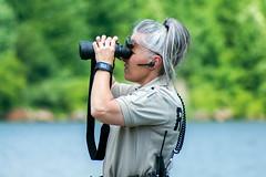 park ranger (Black Hound) Tags: sony a500 minolta chamberslake hiberniapark