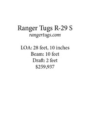 ranger card (Soundings Magazine) Tags: boats pocketcruisers cruisers yachts