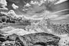 Manastir svetog Pantelejmona (Djordje Petrovic) Tags: svetagora holymountain athos μονηαγιουπαντελεημονοσ ρωσσικον svetipantelejmon монасты́рь пантелеи́мон святаягора но́выйру́ссик manastir афон blackandwhite bw sea greece monochrom nikond80 nikon tokina1224mm tokina tokinalens sky clouds