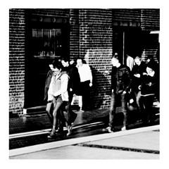 school's out (japanese forms) Tags: ©japaneseforms2017 ボケ ボケ味 モノクロ 日本フォーム 黒と白 alicecooper bw blackwhite blackandwhite blancoynegro bokeh candid monochrome random schoolsout schwarzweis square squareformat strasenfotografie straatfotografie streetphotography vlaanderen zwartwit