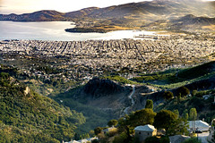 DSC02716-Edit (Adrian Mitu) Tags: volos greece makrinitsa outdoors landscapes nature city airview sea mointains hills trees buildings arhitecture boats pelion harbour port travel