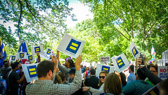 2017.05.03 #LicenseToDiscriminate Protest, Washington, DC USA 4449