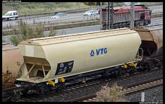 Uagpps/- de VTG (javier-lopez) Tags: ffcc railway train tren trenes adif mercancías vagón tolva uagpps ptt cereal cereales vtg cornellà 03052017