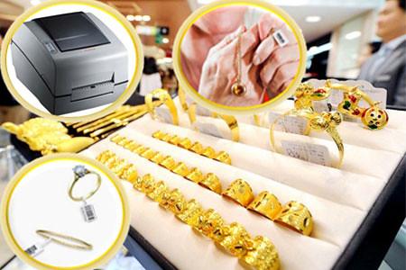 máy in mã vạch cho cửa hàng vàng bạc trang sức