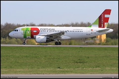 AIRBUS A319 111 TAP Portugal CS-TTC 0763 Luxembourg avril 2017 (paulschaller67) Tags: airbus a319 111 tap portugal csttc 0763 luxembourg avril 2017