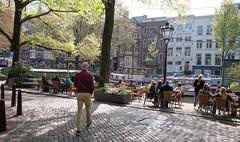 DSCF2238.jpg (amsfrank) Tags: candid amsterdam rivierenbuurt prinsengracht marcella cafe bar marcellas terras sun people tourists