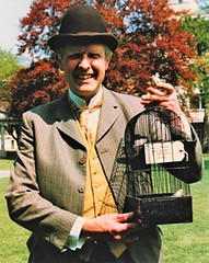 Vevey - Victor Hamilton as Wilson, the notorious canary trainer (the notorious canary appears to have flown)