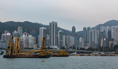 Hongkong (MyMUCPics) Tags: hongkong bucht bay harbour hafen asien asia china 2016 dezember december architektur architecture skyline stadt city abstrakt abstract hochhaus skyscraper reise urlaub travel holiday outdoor exterior drausen view