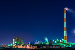 Marusumi Paper Kawanoe Mill (Hiro_A) Tags: marusumi paper mill factory industry industrial night iyomishima kawanoe shikoku shikokuchuo ehime japan nikon d7200 sigma 1770mm 1770 丸住製紙 工場夜景 川之江 伊予三島 四国中央