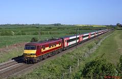 90039 Hougham 05-05-17 (benwheeler) Tags: 90039 ews db cargo hougham ecml vtec virgin trains east coast 1b88 kings cross newark north gate