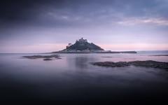 Time and Tide (David Haughton) Tags: stmichaelsmount marazion cornwall cornish coast longexposure seascape evening fineart davidhaughton