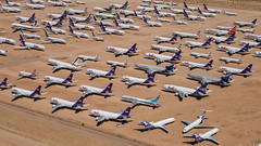 Victorville- 02 (coopertje) Tags: boneyard graveyard aircraft airplane stored wfu victorville fedex mcdonnelldouglas md11