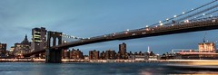 Brooklyn Bridge - Manhattan (valecomte20) Tags: brooklynbridge nikon d5500 manhattan newyork sunset sea bridge pont rivière horizon night city