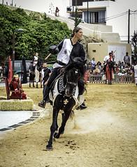 Torneo -- Ibiza medieval 2017 - (ibzsierra) Tags: ibizamedieval2017 ibiza eivissa baleares canon 7d 24105isusm medieval 2017 fustas caballo dama torneo
