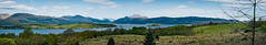 Loch Lomand Panorama (francis.mck.photo) Tags: balloch beauty bright cloud francismck grass green hills landscape loch lochlomand pano panorama scotland sky sunny uk water wood