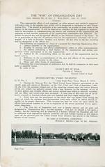1925-09-21-Organization Day program-05 (Old Guard History) Tags: 1925 3dusinfantryregimenttheoldguard fortsnelling minnesota organizationday