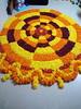 IMG_20160913_035704 (bhagwathi hariharan) Tags: onam pookalam flower rangoli kolam carpet floral nalasopara nallasopara virar aathapookalam tiruonam
