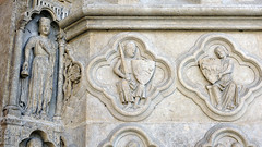 Amiens Cathedral, bravery quatrefoil