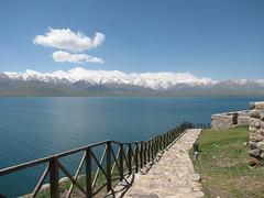Lake Van (Alexanyan) Tags: van mountainous mountain snowy blue turkey western armenia water lake