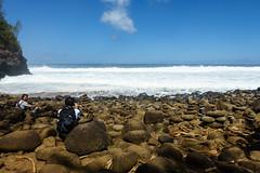Kaui 233 DSC03741 (cpburt) Tags: kauai hawaii napalicoast kalalautrail hanakapiai beach