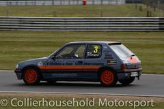 Classic Stock Hatch - R2 (18) Matt Stubington (Collierhousehold_Motorsport) Tags: 750mc 750motorclub 750 snetterton snetterton300 classicstockhatch gti peugeot citroen vauxhall saxo stockhatch ford