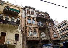 Traditional old buildings in Mar Mikhael, Beirut Governorate, Beirut, Lebanon (Eric Lafforgue) Tags: aged architectural architecture attraction balconies balcony beirut building buildings capital cities city colorimage countries country destination facade front historical history horizontal lebanese lebanon liban liban535 locations lowangleview middleeast nopeople old site tourism tourist tradition traditional travel window windows beirutgovernorate lb libanon libano ливан レバノン لبنان