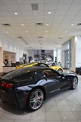 Corvettes (miltonrubensuperstore) Tags: miltonrubenchevrolet corvettes chevy showroom