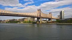 New York City (heytampa) Tags: newyorkcity eastriver rooseveltisland queensborobridge suttonplacepark