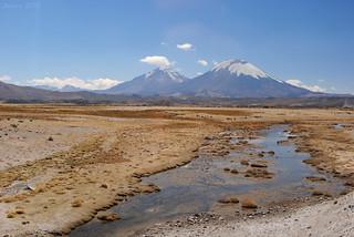 Payachatas: Pomerape y Parinacota
