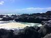 sea foam (ekelly80) Tags: azores portugal sãomiguel may2017 termasdaferraria pontadelgada coast water ocean atlanticocean waves blue rocks rocky black lava lavarocks view foam ladder pool