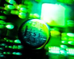 Follow the White Rabbit... (in explore) (Uup115) Tags: macromondays chips microchip hmm bokeh lumia1520 blackeyelenshdmacro inexplore