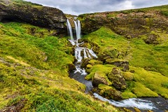 A secret but beautiful waterfall in Iceland (chenjieyu) Tags: ngc fe1635 longexposure iceland waterfall landscape nature water exposure sony ilce7m2 mountain greatphotographers wow wowl2