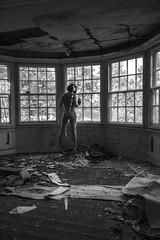 No Way Out (tombo68) Tags: derelict abandoned window tombo68 light darkmess bnw blackandwhite monochrome urbex pr0jectuno
