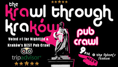 What's life like as a professional drunk guide? Find out here: https://t.co/3SZ2ghNiym………………………………………………………………………… https://t.co/Rj7f4cOpvD (Krawl Through Krakow) Tags: krakow nightlife pub crawl bar drinking tour backpacking