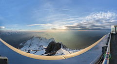 Säntis Region Mountains Panorama HDR (Martin Deja) Tags: panorama panoramicview säntis seantis switzerland swiss mountains mountainrange snow snowcovered spring winter frost clouds bluesky sky sunset sun sunlight alps appenzellerland appenzell mountainpeak canton day evening dusk nature landscape snowcapped traveldestinations sunny valley outdoors hdr highdynamicrangeimaging sunbeams color europe topview aerialview bright green white rock