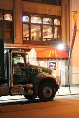 Big MACK (Towner Images) Tags: towner nyc usa us ny america 2017 newyork bigapple townerimages gothamcity gotham street urban city manhattan mack truck light lighting illumination streetscape cityscape