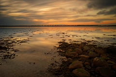 Night time is the right time (Metalhund) Tags: holbæk isefjorden isefjord denmark goldenlight longexposure pentaxm28mm28 a7 water waterscape