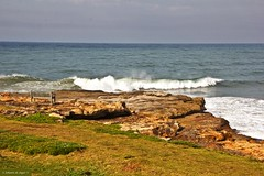Lonely bench at St Mikes (Johann (Sasolburg, RSA)) Tags: stmichaels bench seascape