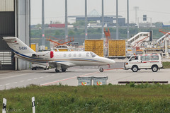 D-IERF @ LEJ 2017.05.05 (EDDP-Spotter) Tags: airportleipzighalle cessna525citationjetcj1 dierf eddp lej leipzighalleairport msn5250310 proairchartertransportgmbh eddpspotter