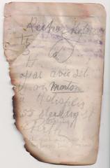 Notes 8 (wheresshelly) Tags: ww1 wwi world war 1 australia gallipoli egypt military australian 4th field ambulance anzac morton wilfred