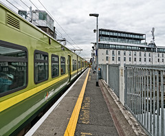 GRAND CANAL TRAIN STATION AND NEARBY [VIEWS FROM THE STATION - APRIL 2017]-127302 (infomatique) Tags: google facebook twitter linkedin airbnb grandcanaldock trainstation railwaystation dart trains publictransport streetsofdublin williammurphy infomatique fotonique