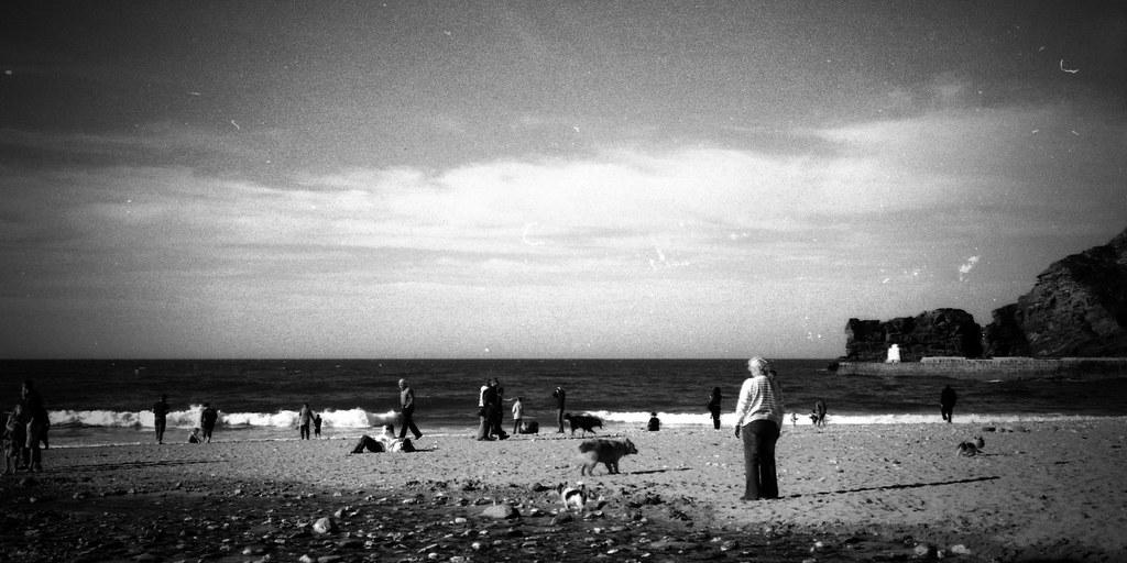 Beach Snapshot [Olympus 35RC]