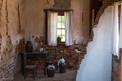 Rustic   HWW (Irina1010) Tags: rustic icehouse window vessels ceramic table chair baskets storage barringtonhall 2017 canon brickwalls textures