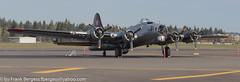 IMG_4119-Pano (fbergess) Tags: 7dmiig aircraft b17bomber caravelle glacierjetcenter tamron150600mm tumwater washington unitedstates us