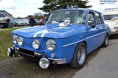 Renault 8 Gordini (Monde-Auto Passion Photos) Tags: voiture vehicule auto automobile renault r8 gordini berline bleu ancienne rare rareté collection france courtenay rassemblement evenement