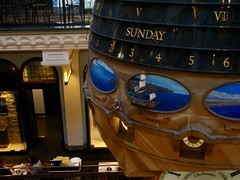 ship clock (pianoforte) Tags: queenvictoriabuilding qvb shopping sydney sydneynsw downtown businessdistrict australia2017 australia